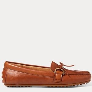 NEW Ralph Lauren Briley Leather Loafer
